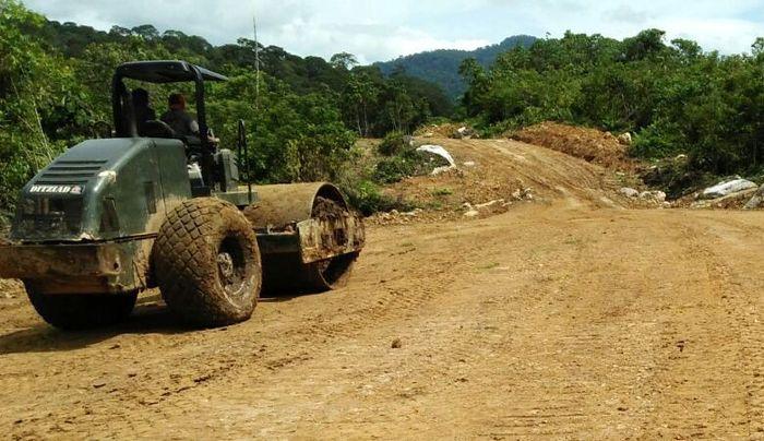 Konstruksi jalan sepanjang 60 km tersebut ditargetkan selesai dalam waktu 335 hari ke depan. Dok PUPR/Ditjen Bina Marga.