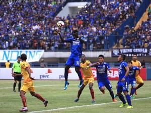 Persib Tekuk Sriwijaya FC 1-0 di Pembukaan Piala Presiden 2018