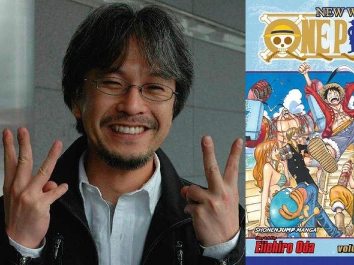 Eiichiro Oda, pencipta manga One Piece.