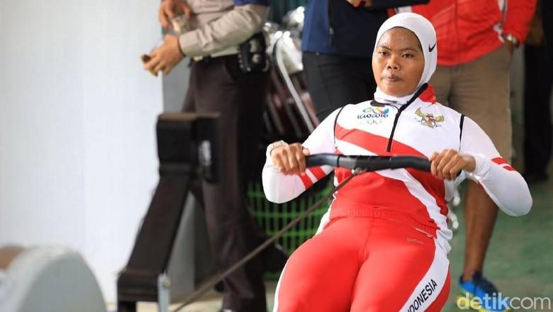 Atlet Pelatnas Dayung Tersetrum Saat Latihan di Situ Cileunca
