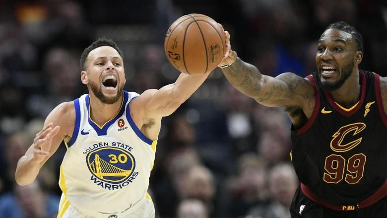 Warriors Menang Tandang Lagi, Cavaliers Jadi Korban Teranyar