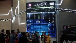 Perdagangan Dibuka Normal, IHSG Tembus 6.400 di Jeda Siang