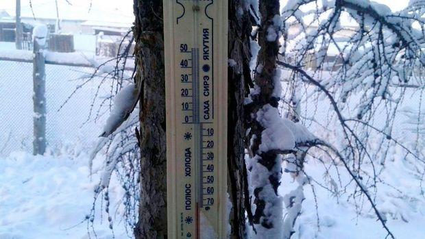 Termometer terhenti ketika mengukur suhu -62C sebelum pecah