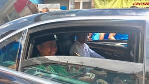 Momen Jokowi Semobil dengan Bupati Uu Ruzhanul