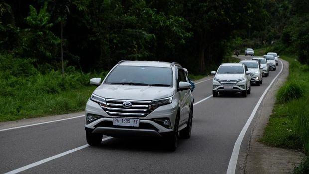Uji All New Terios di Padang Sumatera Barat