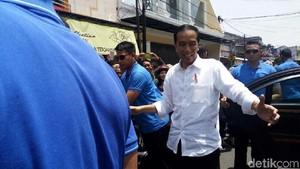 Potret Jokowi Didampingi Ganjar, Khofifah, dan Uu saat Keliling Jawa