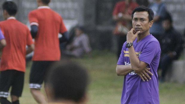 Widodo Cahyono Putro pernah membawa Bali United menjadi runner-up Liga 1 2017. (