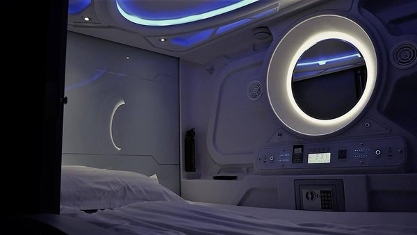 Foto: (Facebook/Galaxy Pods Hostel)