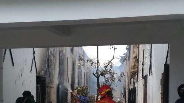 Cerita Saksi Mata soal Pemicu Kebakaran di Museum Bahari