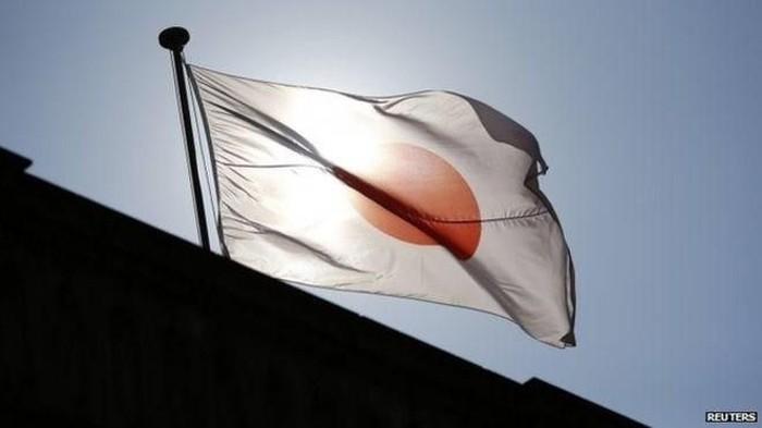 Ilustrasi bendera jepang