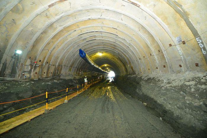 Terowongan Notog BH 1440 lama dibangun pada tahun 1914-1915 oleh perusahaan Kereta Api Hindia Belanda, Staats Spoorwegen (SS). Dok. PT PP (Persero) Tbk.