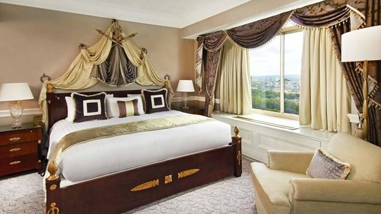 Kamar mewah di Hotel London Hilton on Park Lane (Hilton)