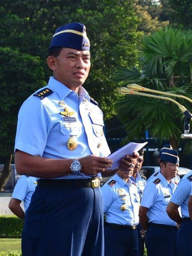 Jokowi akan Lantik Marsdya Yuyu Sutisna Jadi KSAU Hari Ini