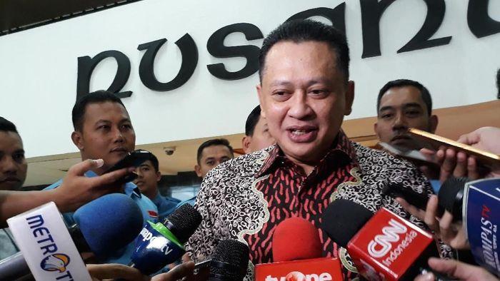 Foto: Ketua DPR Bambang Soesatyo. (Tsarina Maharani/detikcom)
