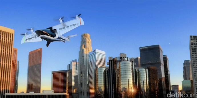 Wajah Taksi Terbang di 2026