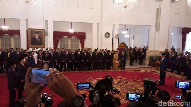 Jokowi Reshuffle Kabinet Jilid III
