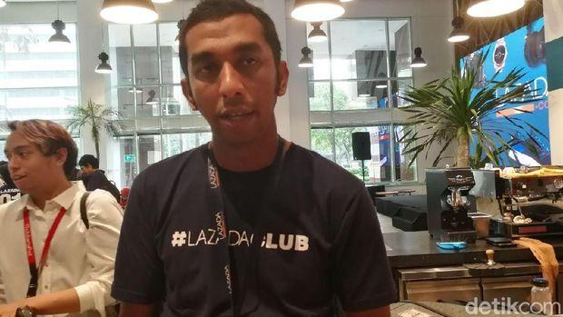 CMO Lazada Indonesia Achmad Alkatiri