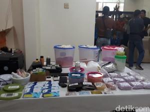 BNN Telusuri Sumber Bahan Baku Ekstasi yang Diproduksi di Tangerang
