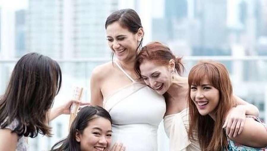 Cantiknya Marissa Nasution saat Menggelar Baby Shower