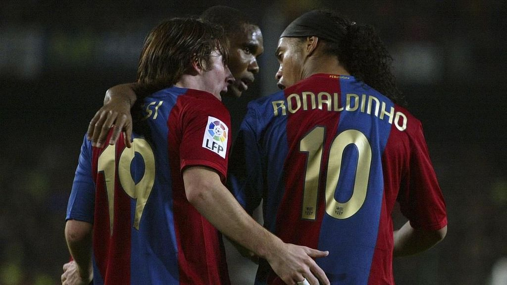 Demi Lindungi Messi, Barcelona Jual Ronaldinho dan Deco yang Sering Mabuk