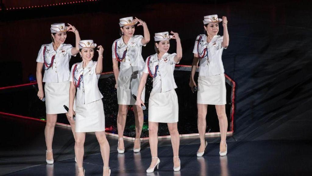 Moranbong Band, Spice Girls Versi Korea Utara
