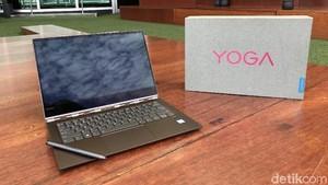 Lenovo Yoga 920: Laptop Stylish, Performa Gahar