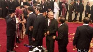 Usai Pelantikan, Jokowi-JK Beri Selamat ke Menteri Baru