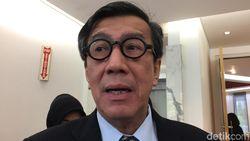 KPK Ungkap Sekjen Kemenkum HAM Berkuasa di Lapas, Ini Kata Yasonna