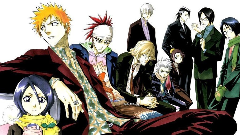 700 Ilustrasi Manga Bleach Terangkum dalam Buku Ini