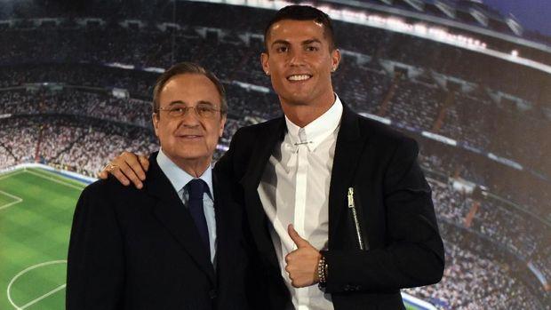 Ronaldo pergi ke Juventus karena sakit hati dengan Florentino Perez.
