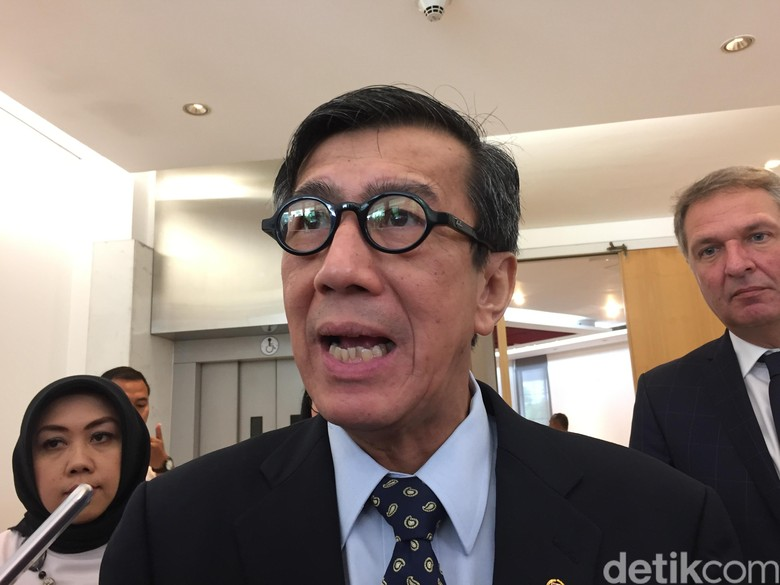 Menkum HAM: Kemungkinan Presiden Jokowi Tak akan Teken UU MD3