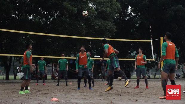 Timnas Indonesia hanya mendapat latihan dasar dalam dua hari terakhir pemusatan latihan kali ini.