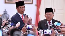 Momen Jokowi-JK Ungkap Alasan Reshuffle Kabinet