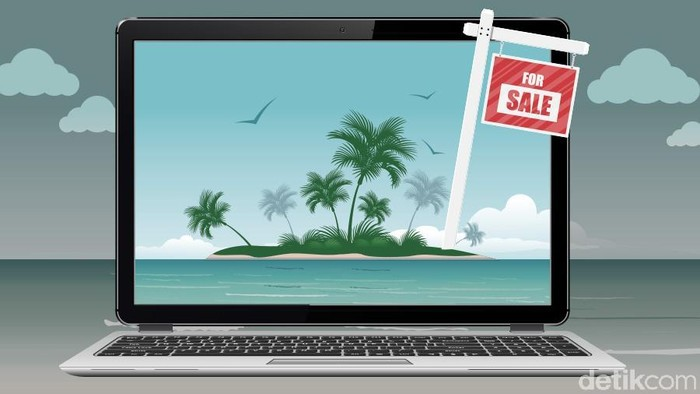 Pulau Dijual Online