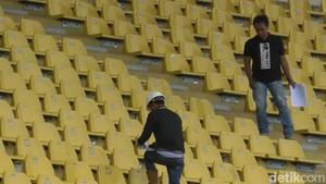 Stadion Si Jalak Harupat  Direnovasi untuk Asian Games 2018