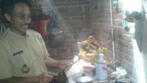 Biogas untuk memasak warga Ponorogo/