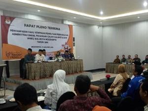Dari 8 Kandidat Pilwali Mojokerto, Baru 1 Orang Serahkan LHKPN