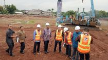 Momen Peresmian Pembangunan Rumah DP 0 oleh Anies