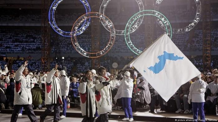 Korea Utara Dan Selatan Akan Pawai Bersama Di Olimpiade Musim Dingin