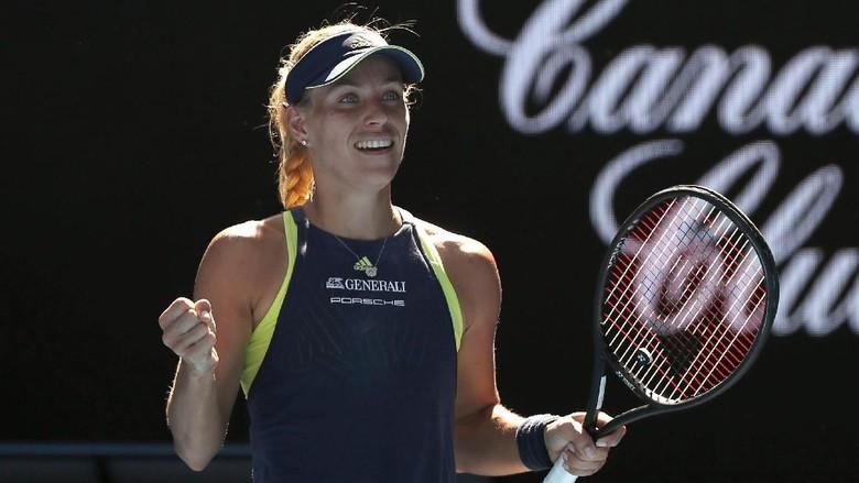 Menang di Hari Ultah, Kerber Tantang Sharapova di Babak Ketiga