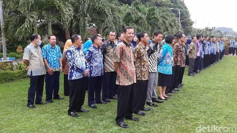 Bolos Upacara Korpri, Ini Sanksi Ratusan PNS Pemkab Ponorogo