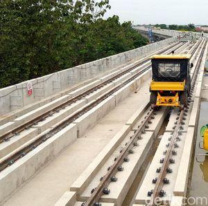 Apa Benar Biaya Bangun LRT Idealnya US$ 8 Juta/Km?