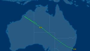 Pesawat MH122 Mendarat Darurat di Alice Spring