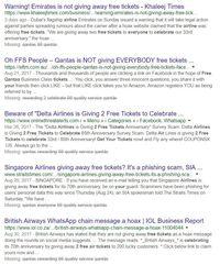 Waspada Tiket Pesawat Gratis di WhatsApp