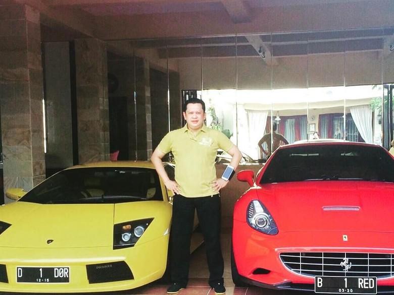 Bamsoet Pamer Foto Ferrari B 1 RED, Samsat: Nama Pemilik Andi