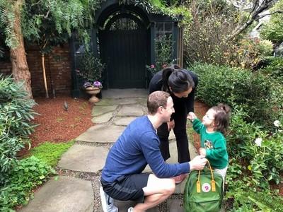 Saat Mark Zuckerberg Antar Anaknya di Hari Pertama Sekolah