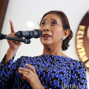 Kado HUT ke-73 RI, Susi Tenggelamkan 125 Kapal Maling Ikan