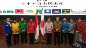 Partai Pendukung Pemerintah Bertemu Utusan PM Jepang di DPP PDIP