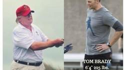 Presiden AS Donald Trump menuai olok-olok di media sosial setelah hasil cek kesehatannya menyebut tinggi badannya 190 cm dan berat badannya 108 kg.
