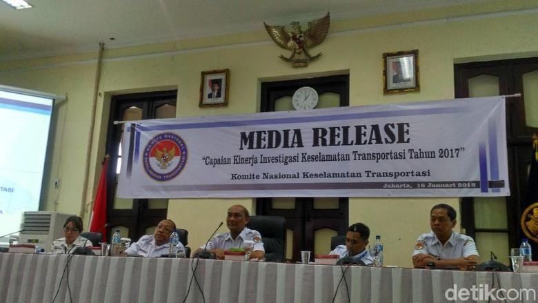 Naik 2 Kali Lipat, KNKT Catat Ada 34 Kecelakaan Pelayaran di 2017